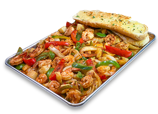 San Pedro Fish Market - Enjoy the World Famous Shrimp Tray, with Free Shipping to your home.